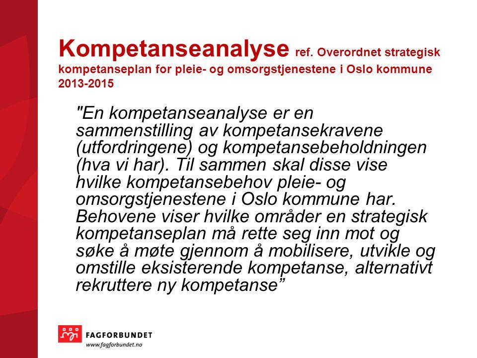 Kompetanseanalyse ref.