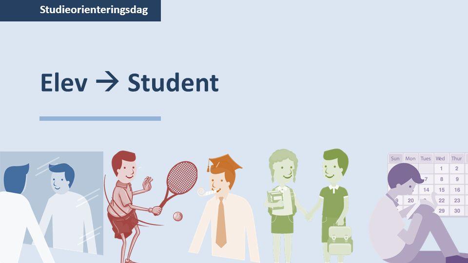 Studieorienteringsdag Elev  Student