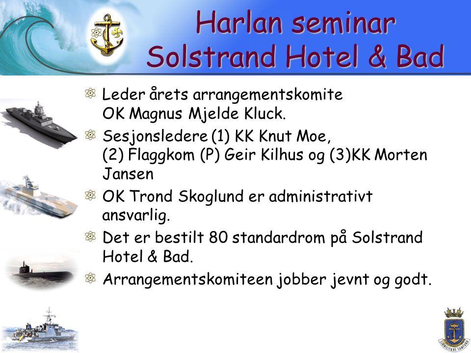 Harlan seminar Solstrand Hotel & Bad Leder årets arrangementskomite OK Magnus Mjelde Kluck.