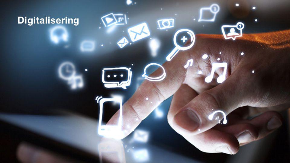 Det som kan digitaliseres vil bli digitalisert…
