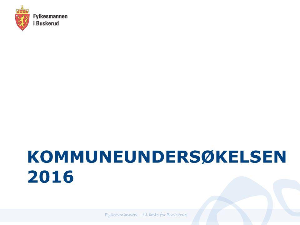 KOMMUNEUNDERSØKELSEN 2016