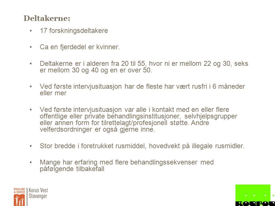 Case 2: Gunnar Barnevern inn allerede i småskolen Flere tiltak i skolen Barnevern inne som 18 åring Foreldre insisterer på at sønn skal i behandling Flere innleggelse på døgnbehandling Flere forsøk i langtidsbehandling, også av eget ønske.