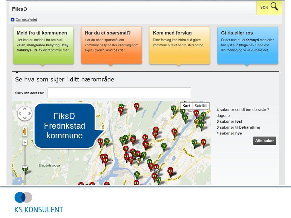 FiksD Fredrikstad kommune FiksD Fredrikstad kommune