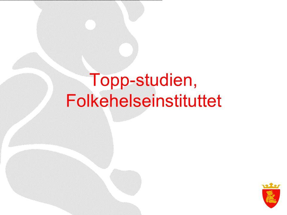 Topp-studien, Folkehelseinstituttet