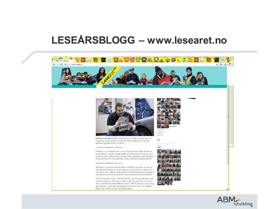 LESEÅRSBLOGG – www.lesearet.no