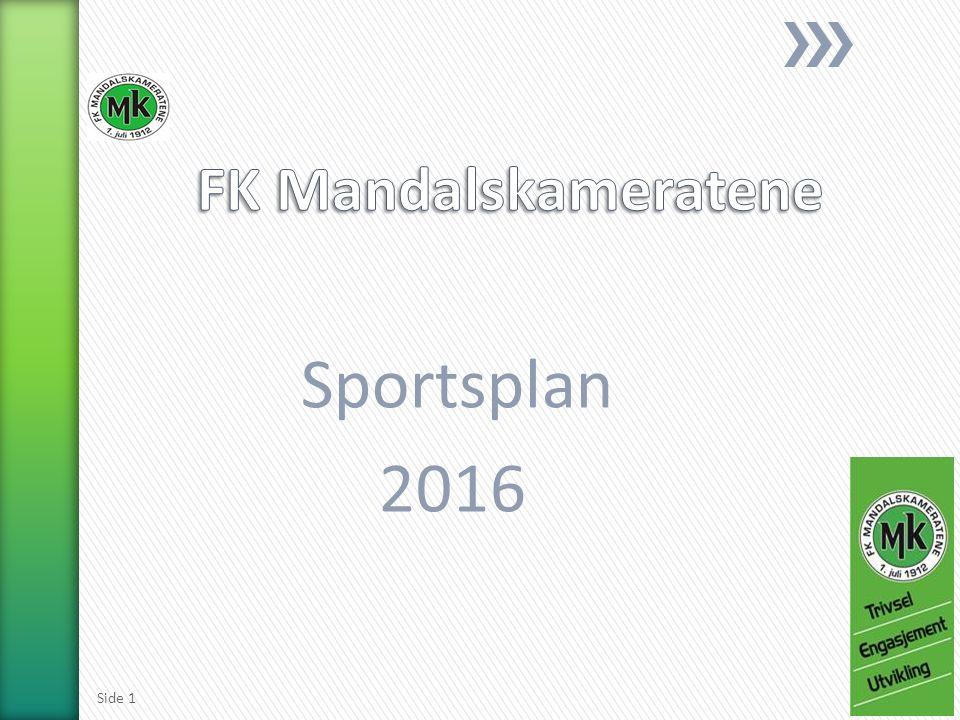 Sportsplan 2016 Side 1
