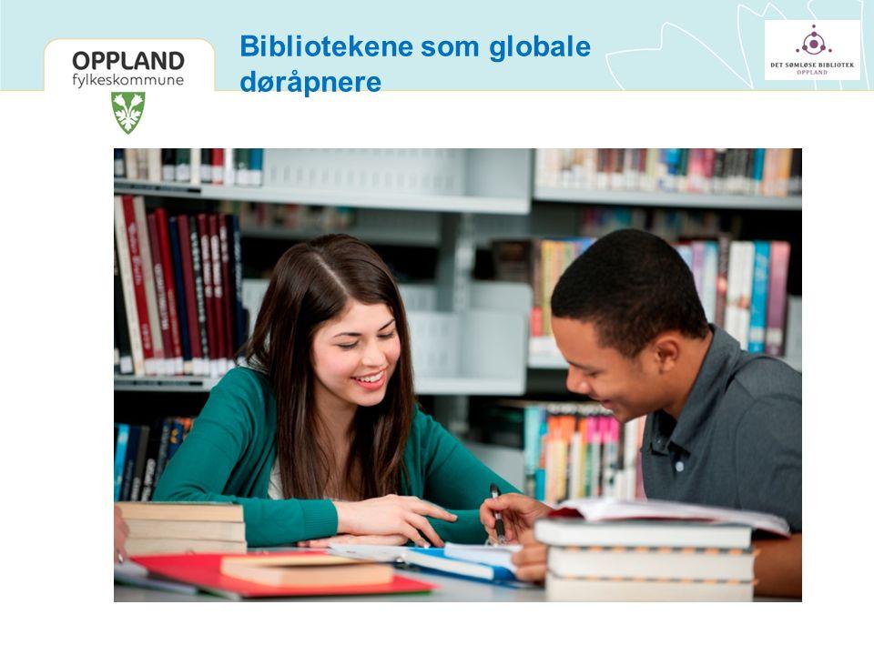 Bibliotekene som globale døråpnere