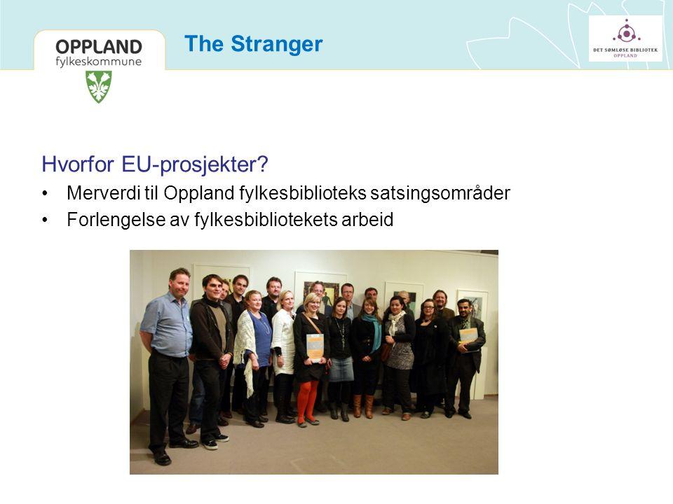 The Stranger Hvorfor EU-prosjekter.