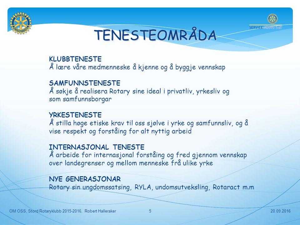 BILL GATES ER PÅ LAG MED ROTARY 20.09.2016OM OSS, Stord Rotaryklubb 2015-2016, Robert Halleraker46