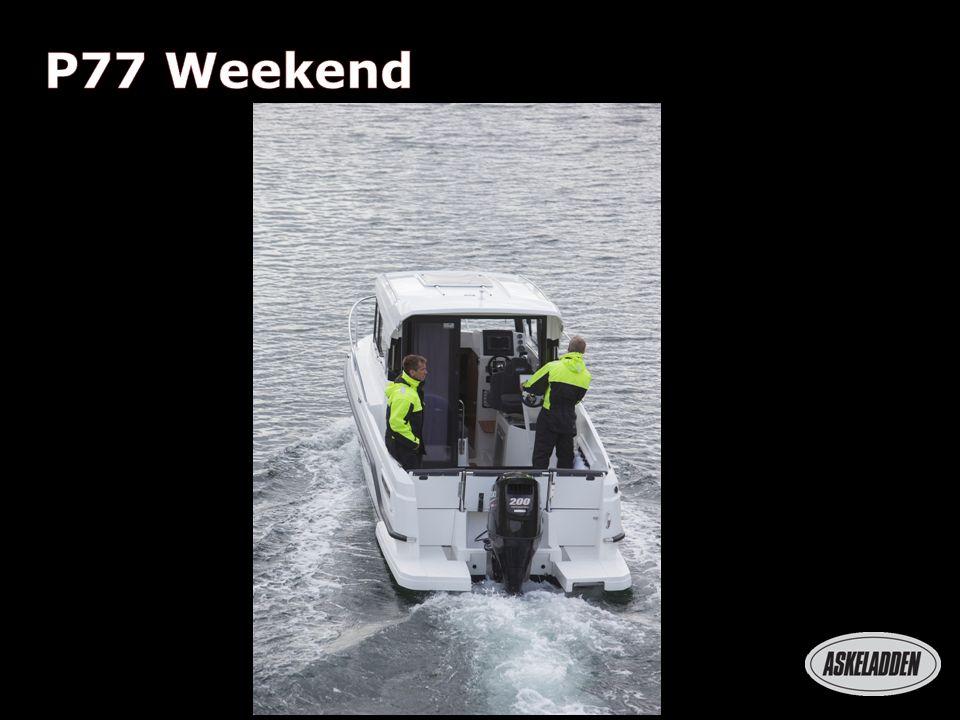 P66 Weekend 2,5 m 2 P77 Weekend 5,5 m 2