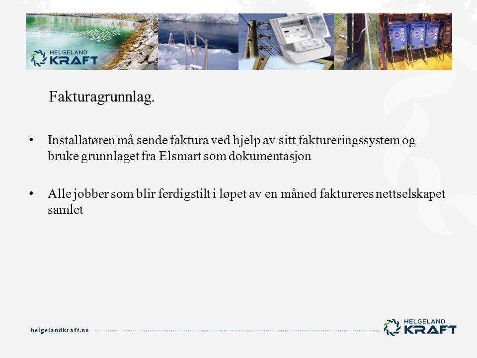 helgelandkraft.no Fakturagrunnlag.