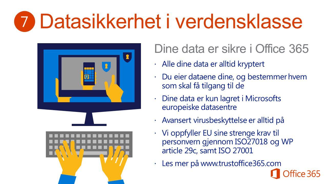 Fokus på brukervennlighet Kjent grensesnittOppdater kompe- tansen ved behov 8 http://aka.ms/office365kurs