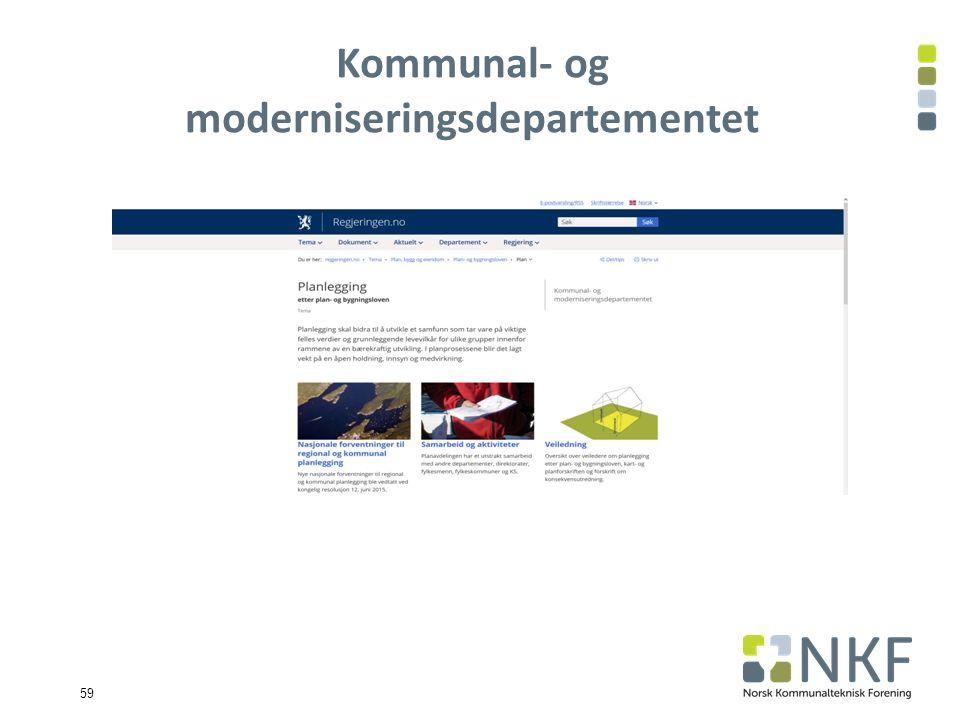 Kommunal- og moderniseringsdepartementet 59