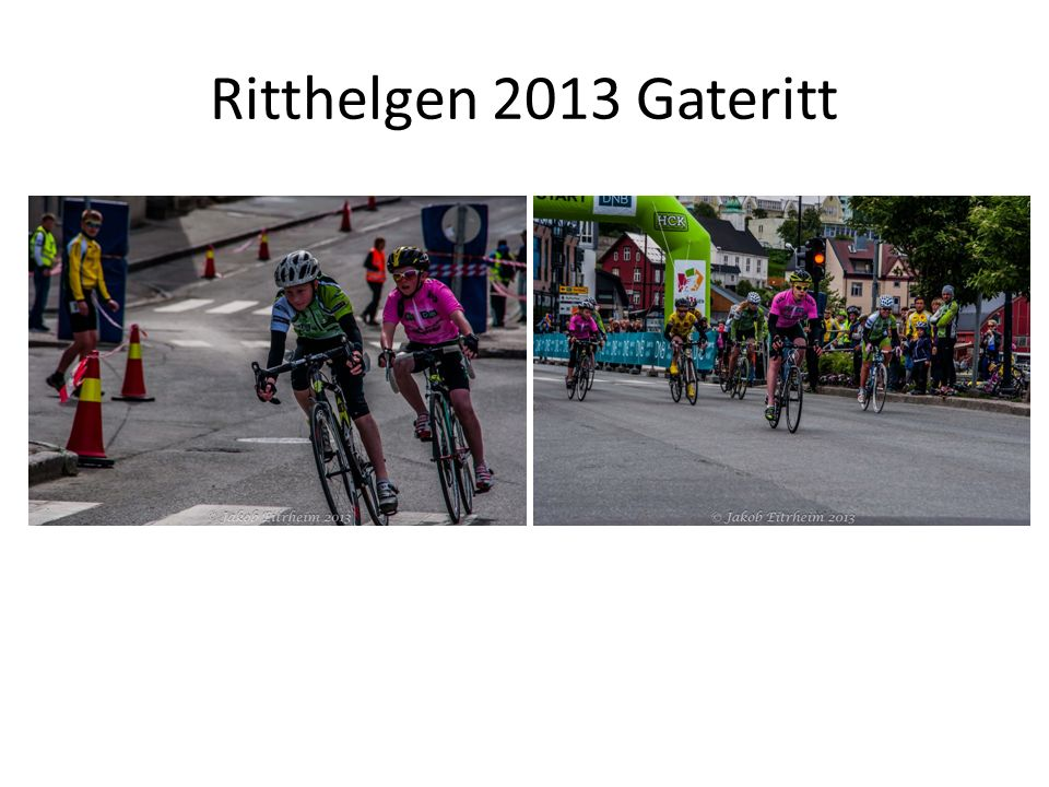 Ritthelgen 2013 Gateritt