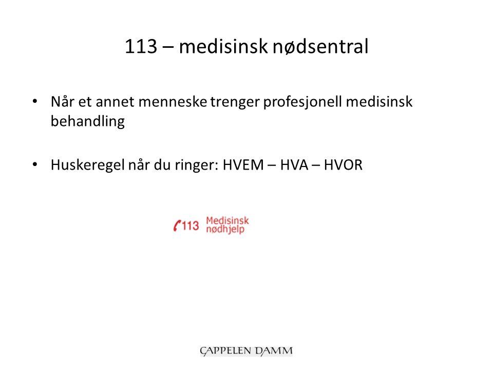 Hjerte- og lungeredning (HLR 30:2) Hjertekompresjon Munn til munn-metoden 30:2 står for 30 hjertekompresjoner og 2 innblåsninger Ring alltid 113 når noen trenger HLR Folk flest kan ikke førstehjelp (film)film