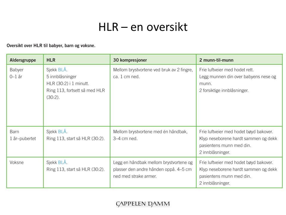 HLR – en oversikt