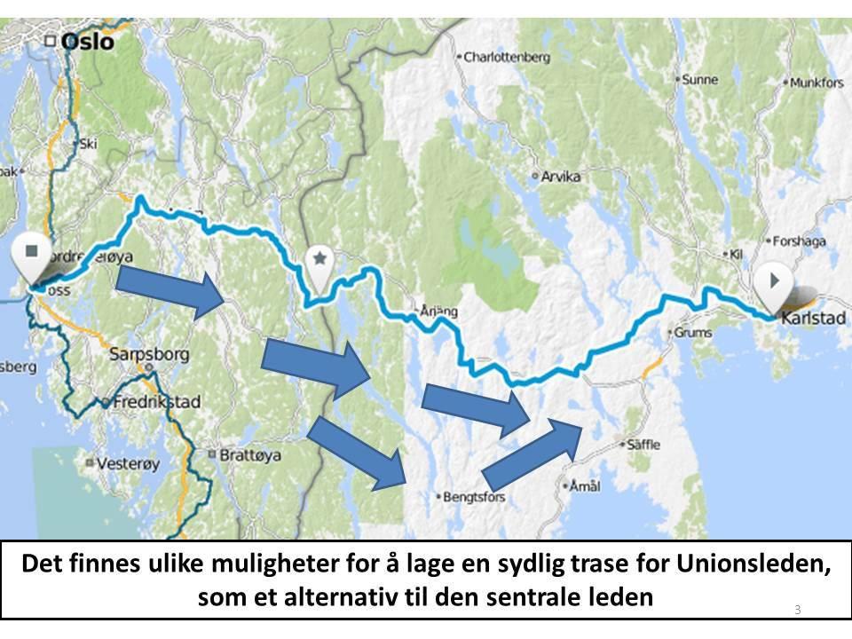 Arvika kommun vil være en samarbeidspartner for nordlige alternativ 4