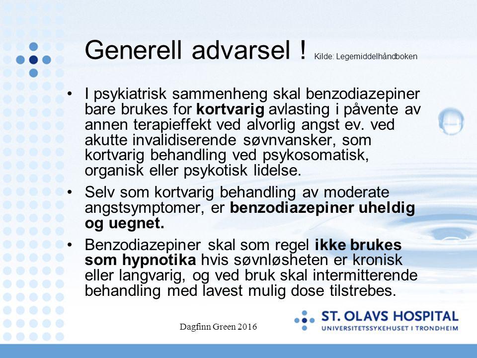 Dagfinn Green 2016 Generell advarsel .