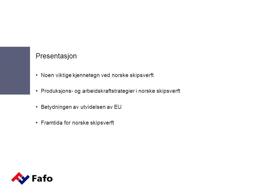 En framtid for norsk skipsbygging.