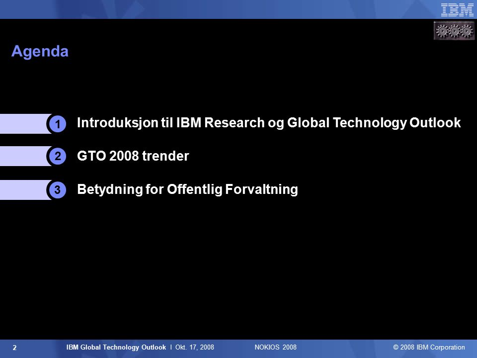 IBM Global Technology Outlook l Okt.