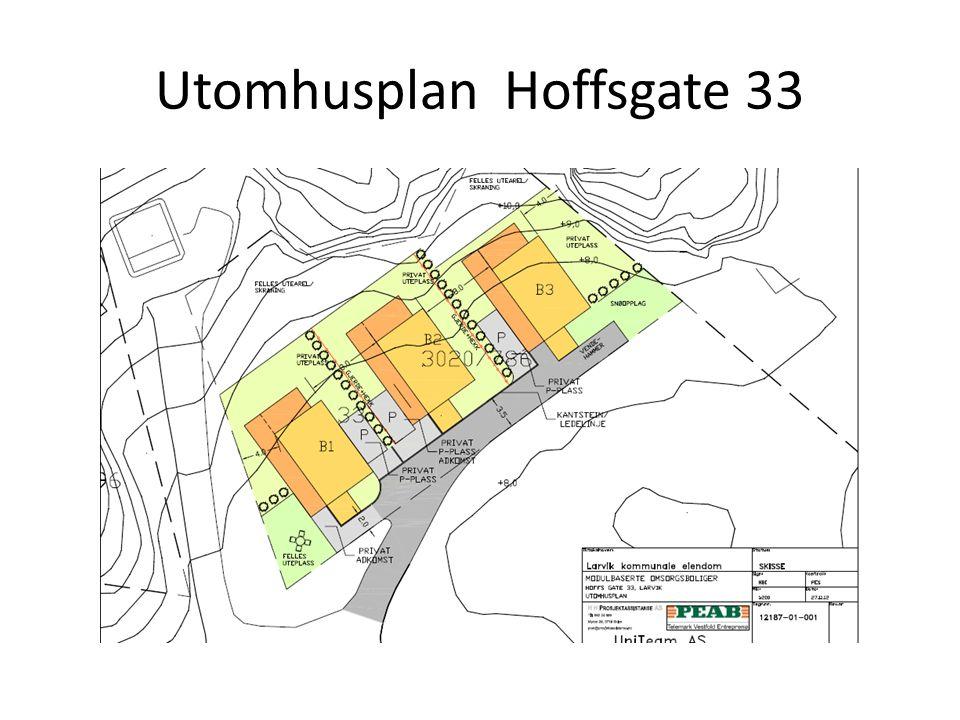 Utomhusplan Hoffsgate 33