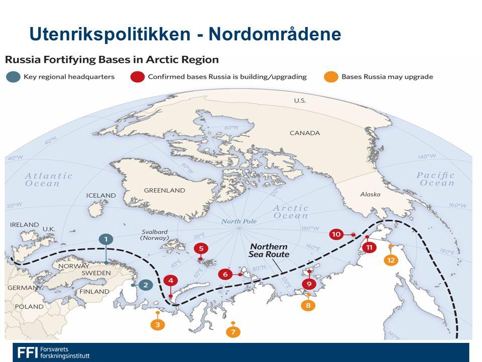 Utenrikspolitikken - Nordområdene