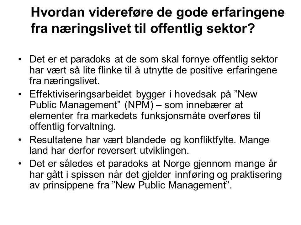 IKT-meldingen var en anledning til å gi et svar på denne utfordringen Stoltenberg-regjeringen varslet allerede i Soria Moria- erklæringen at den ville stake ut en ny kurs i arbeidet med fornyelse og effektivisering av offentlig sektor.