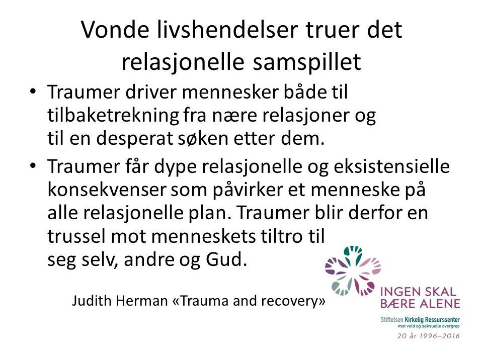 Å TEMATISERE OVERGREP I SMÅGRUPPER Lennart Persson