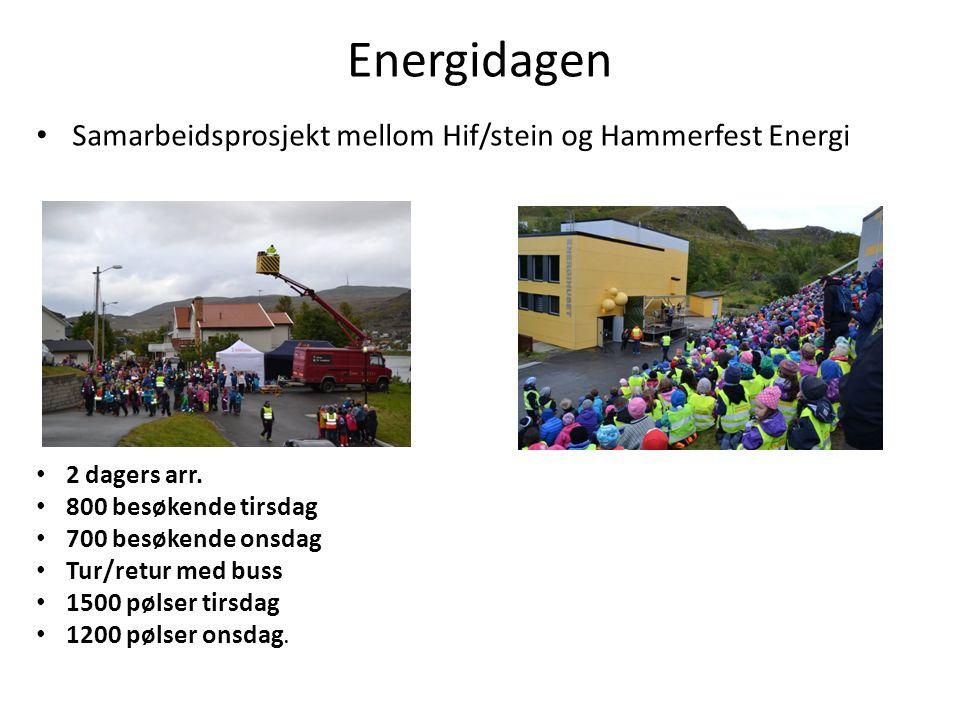 Energidagen Samarbeidsprosjekt mellom Hif/stein og Hammerfest Energi 2 dagers arr.