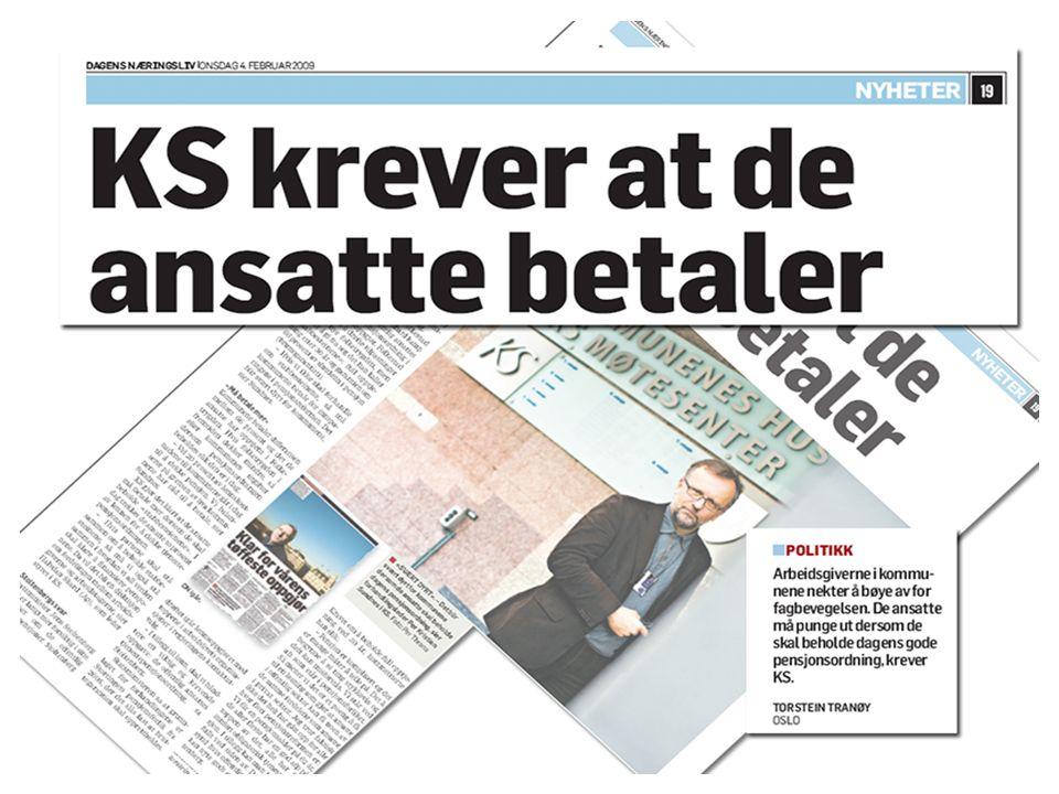 Kommunenes Sentralforbund til Dagens Næringsliv 4.