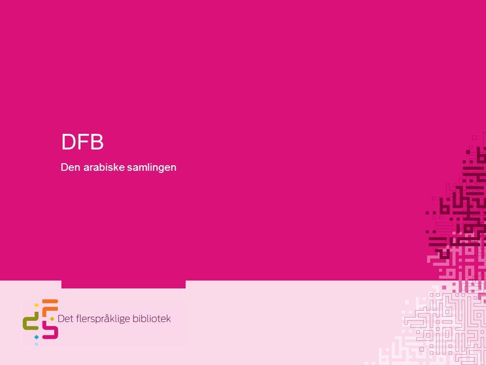 DFB Den arabiske samlingen