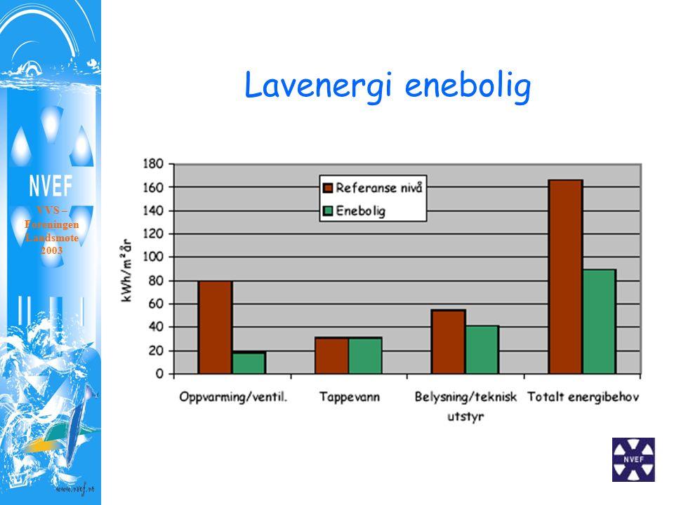 Lavenergi enebolig VVS – Foreningen Landsmøte 2003
