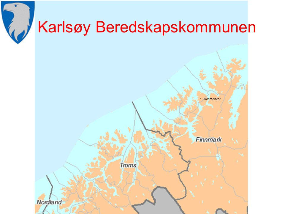 Karlsøy Beredskapskommunen * Hammerfest