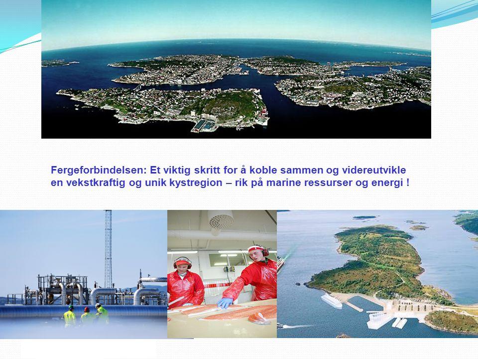 Midt-Norsk Fergeallianse AS Fergeforbindelsen: Et viktig skritt for å koble sammen og videreutvikle en vekstkraftig og unik kystregion – rik på marine
