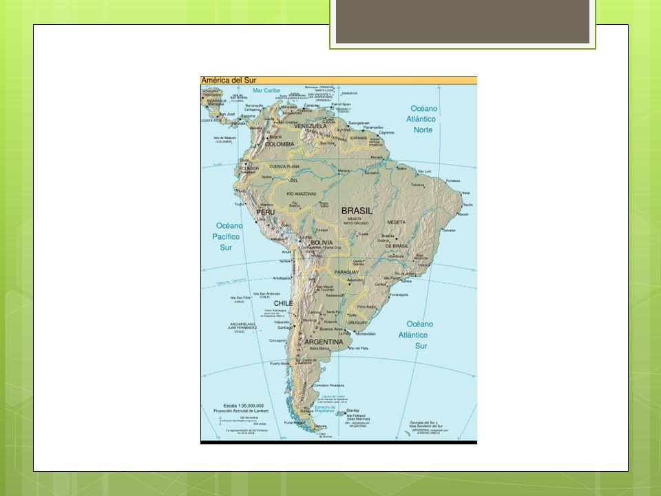 LANDSKAP  Langs vestkysten av Sør Amerika ligger Andesfjellene.