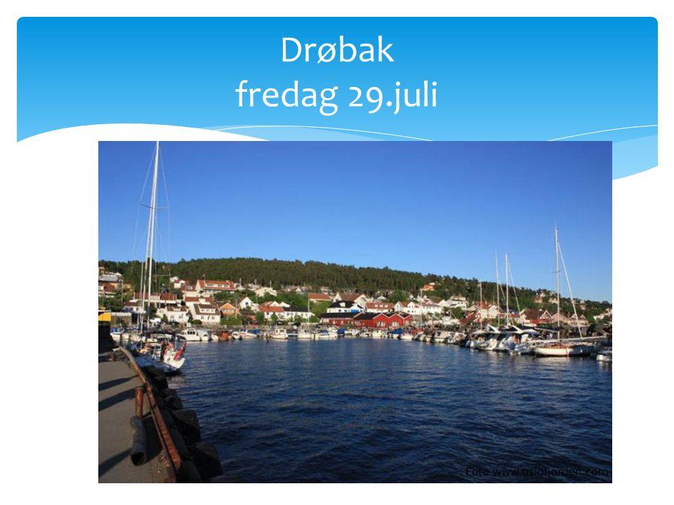 Drøbak fredag 29.juli