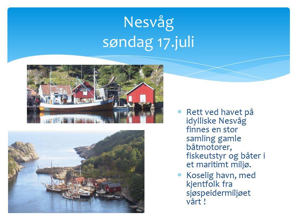  Trygg havn underveis sørover Lista mandag 18.juli