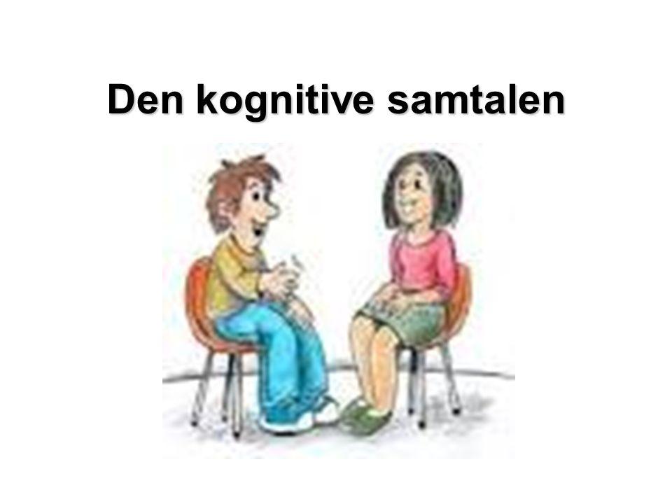 Kognitive forvrengninger Overgeneralisering: Trekker en slutning ut fra en enkelt situasjon eller erfaring.