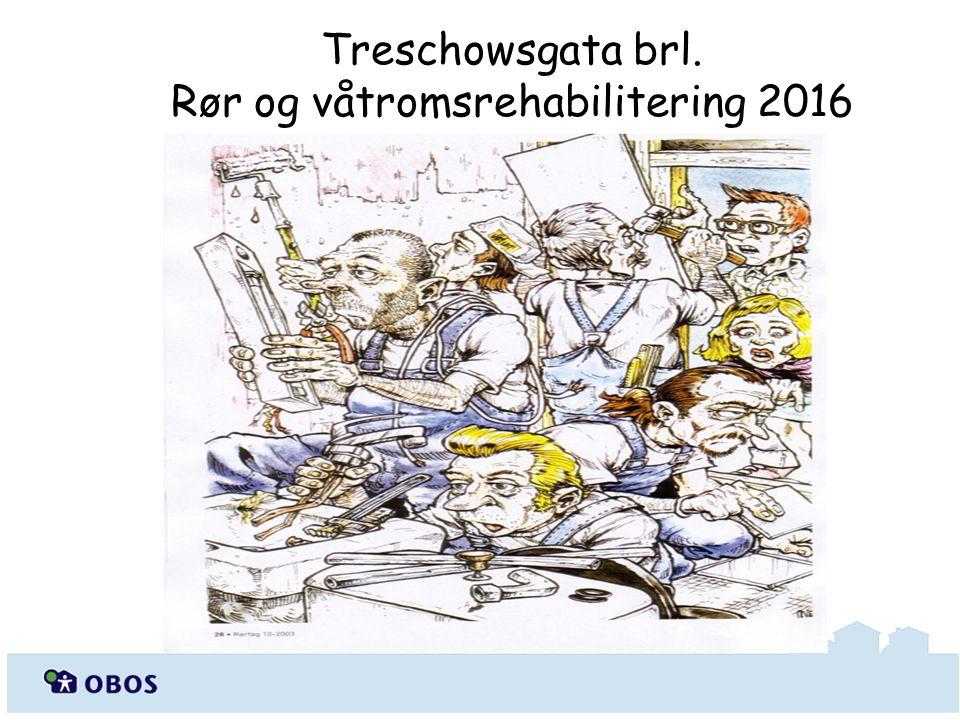 Treschowsgata brl. Rør og våtromsrehabilitering 2016
