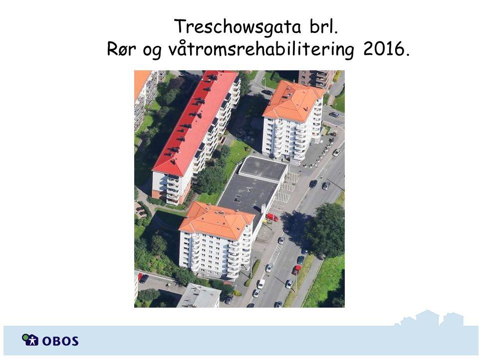 Treschowsgata brl. Rør og våtromsrehabilitering 2016.