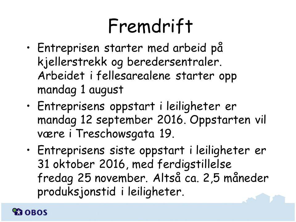 Fremdrift Entreprisen starter med arbeid på kjellerstrekk og beredersentraler.