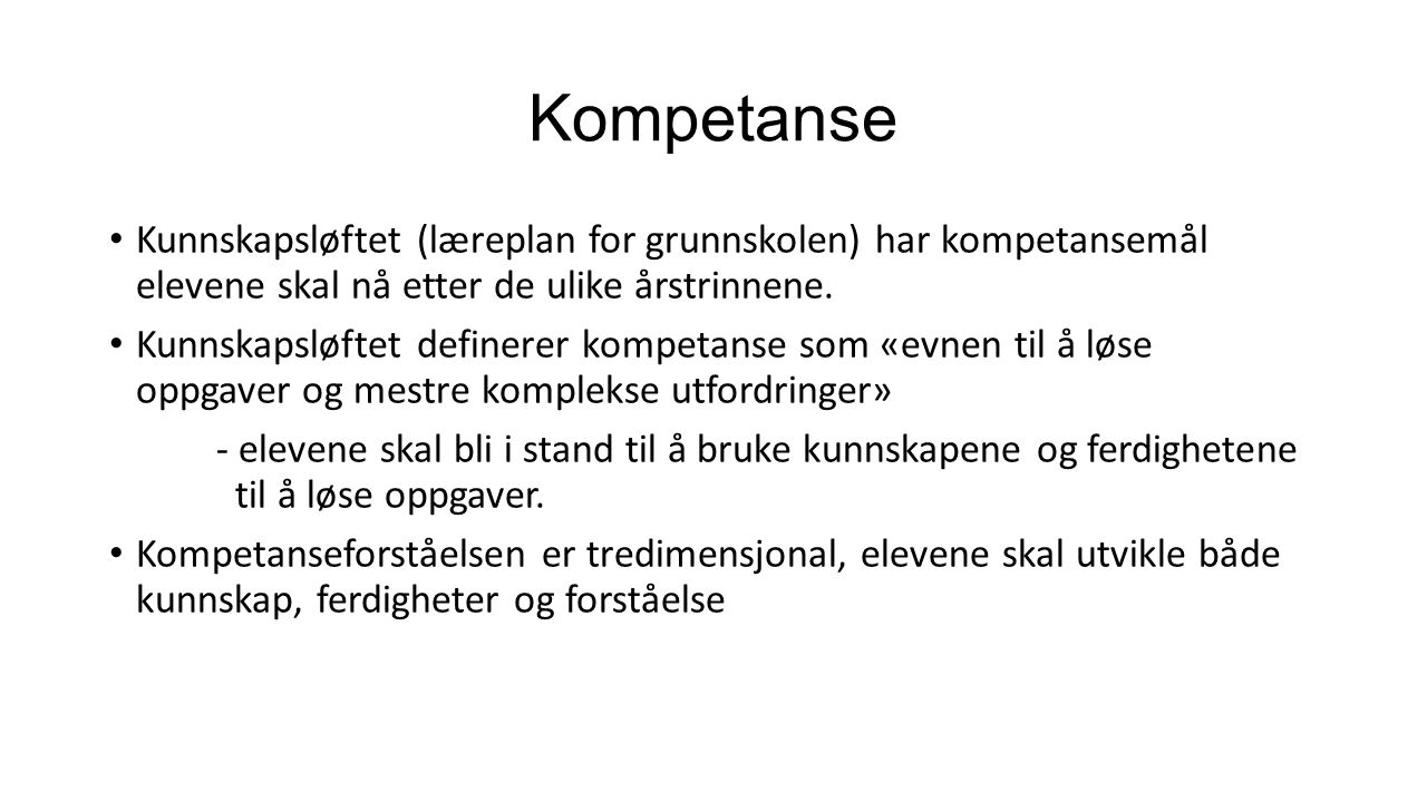 Norsk Viktig å lese hver dag.