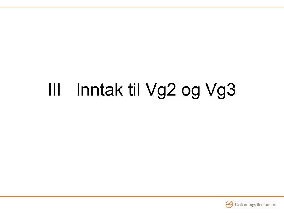 IIIInntak til Vg2 og Vg3