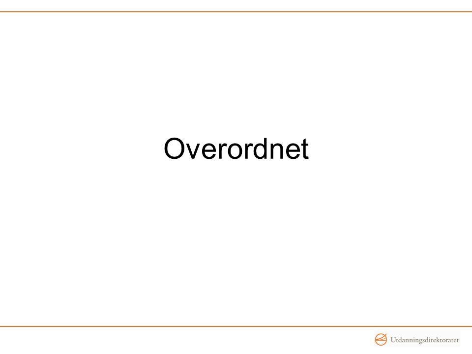 Overordnet