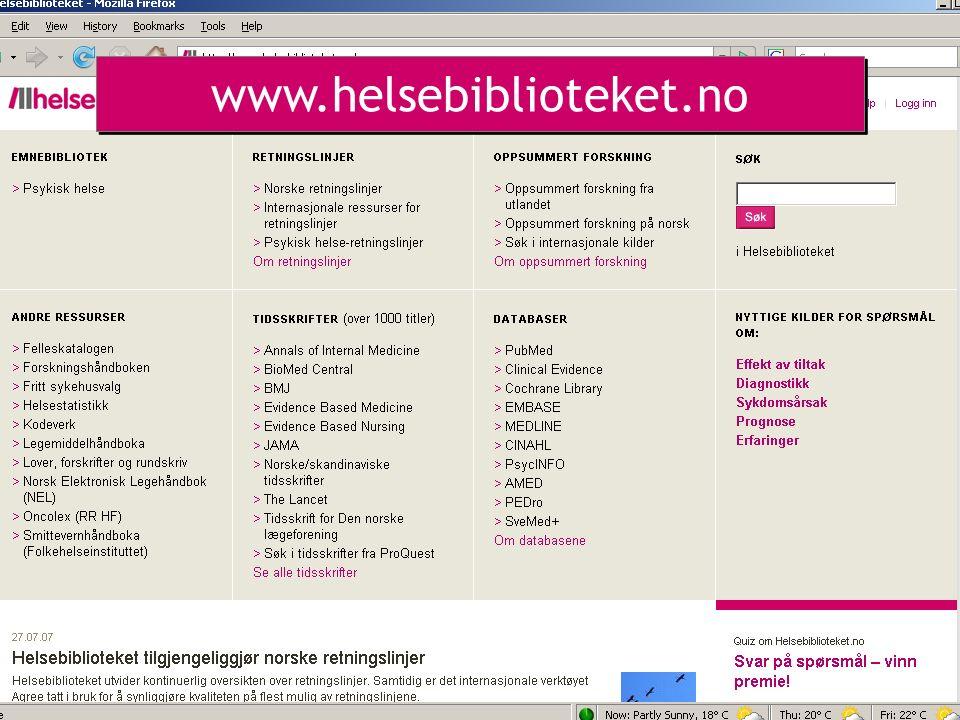 www.helsebiblioteket.no