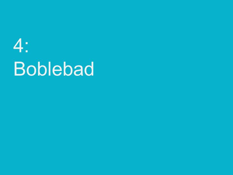 4: Boblebad