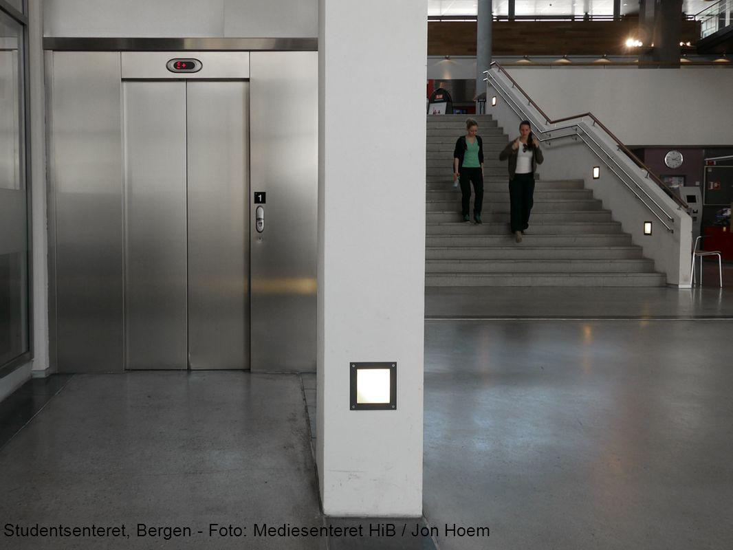 Studentsenteret, Bergen - Foto: Mediesenteret HiB / Jon Hoem