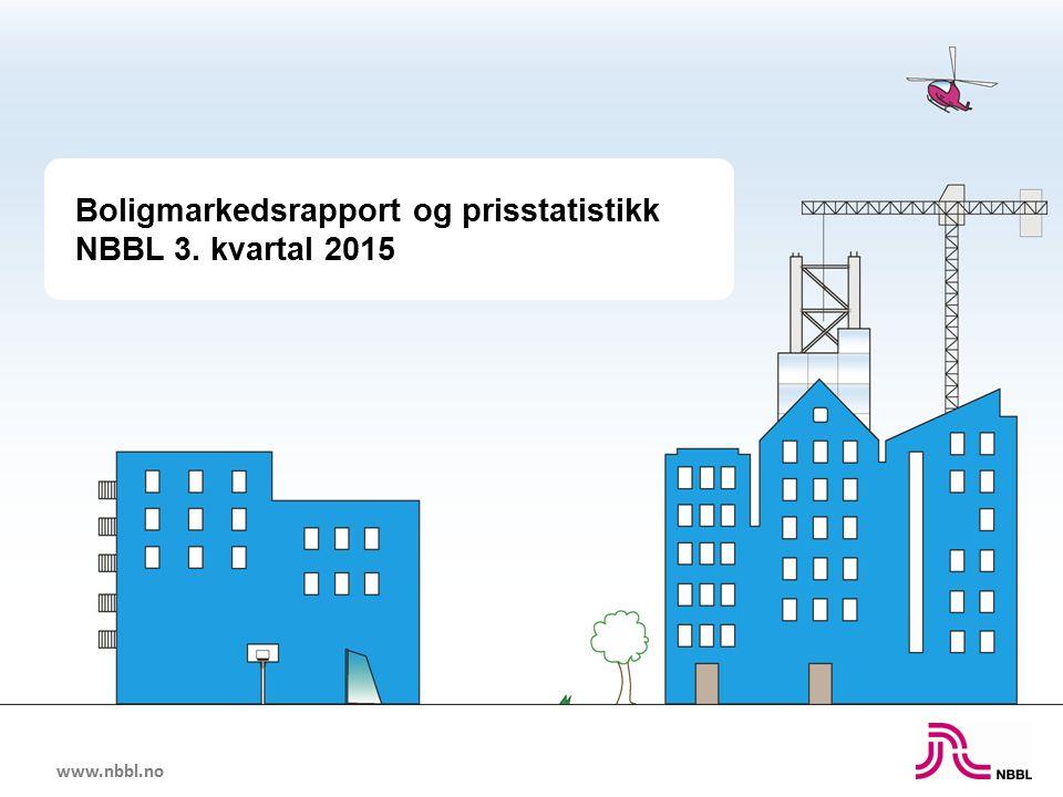 www.nbbl.no Boligmarkedsrapport og prisstatistikk NBBL 3. kvartal 2015