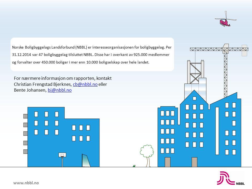 www.nbbl.no Norske Boligbyggelags Landsforbund (NBBL) er interesseorganisasjonen for boligbyggelag.