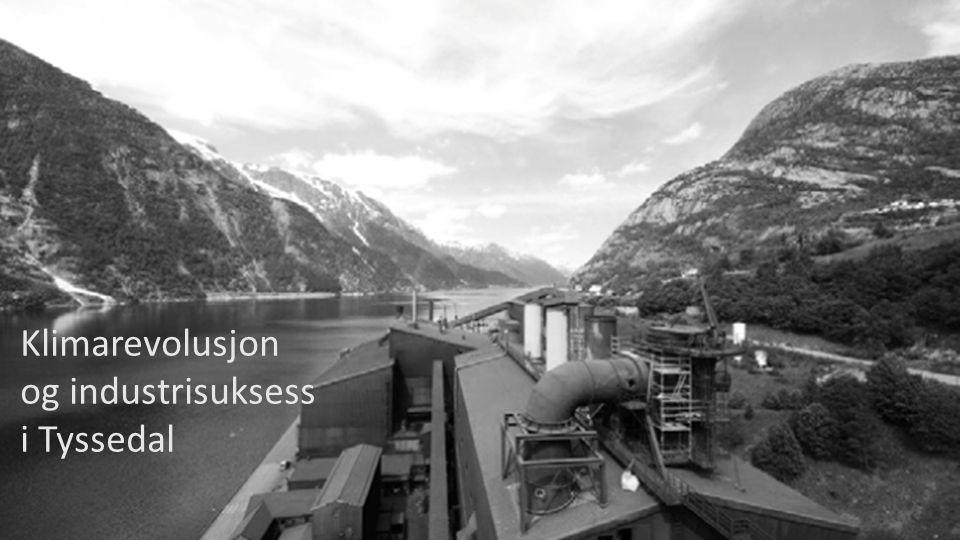 HARALD GRANDE Klimarevolusjon og industrisuksess i Tyssedal